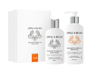 Win four luxury bodycare giftsets from Apples and Bears