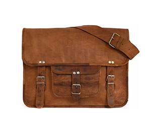 Win a leather vintage style satchel from Gusti_2